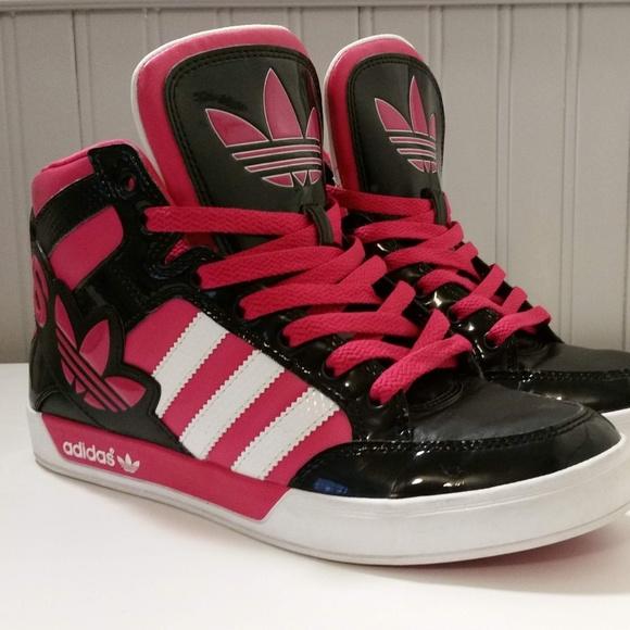 Coche Fresco enero  adidas Shoes | Girls Adidas Hard Court Hi Big Logo Size 6y | Poshmark